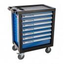 Įrankių vežimėlis 7 stalčių. Be įrankių.  Gamintojas: Hogert technik (Vokietija)
