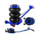 Domkratas pneumatinis su 3 oro pagalvėmis 6.0 t