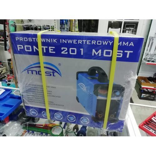 Suvirinimo aparatas invertorinis MOST Ponte 201 su kabeliais