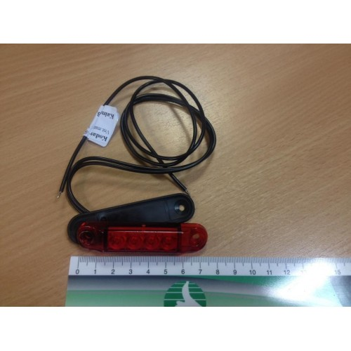 Gabaritinis LED (Raudonas)