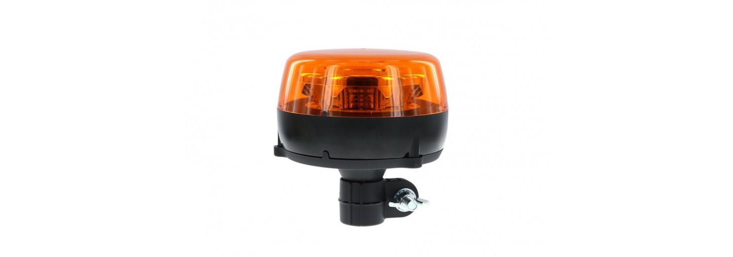 LED švyturėliai ir jų laikikliai